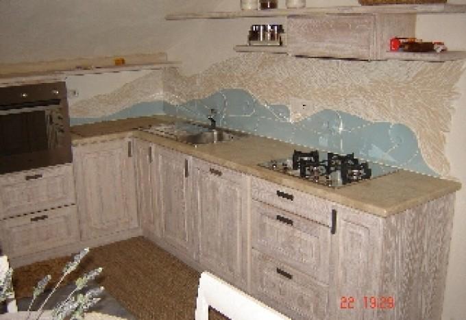 Arredamento stile costa smeralda sanotint light tabella for Arredamento stile sardo